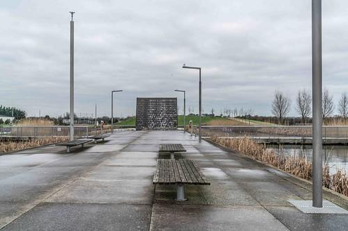 Wind Powered Public Park In Clongriffin Dublin [Father Collins Park]-110963