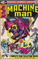 Machine Man 19 (micky the pixel) Tags: comics robot comic jackolantern superman batman hulk thor marvel daredevil heft roboter drstrange steveditko machineman
