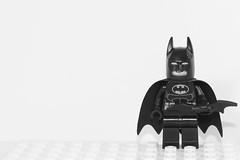 Week 1 PhotoChallenge2016 B&W Min 05 (Brian.Neudorff) Tags: blackandwhite bw lego batman minifigs minimalism darkknight minifigures legominifigures