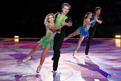 Isabella Tobias & Ilya Tkachenko, and Alexandra Paul & Mitch Islam