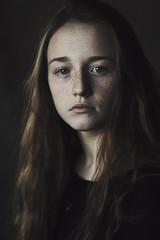 Nastya (ivankopchenov) Tags: light portrait cute girl beautiful dark hair eyes fineart naturallight classicalportrait