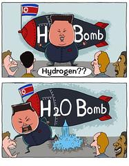 H Bomb? H2O Bomb (andreachacha88) Tags: h bomb northkorea