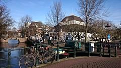Aan de Amsterdamse grachten 5 (Peter ( phonepics only) Eijkman) Tags: city holland netherlands amsterdam nederland bridges canals grachten noordholland nederlandse bruggen reflectionsofthepast