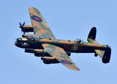 Lancaster (Bernie Condon) Tags: plane vintage flying aircraft aviation military lancaster preserved bomber raf warplane avro memorialflight bbmf pa474