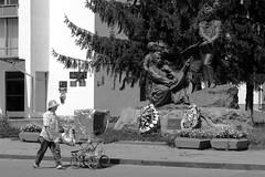 Taras Shevchenko monument (alxpn_bw) Tags: ukraine україна дубно dubno alxpn