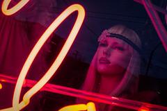 Sentinel (Michael Guio) Tags: seattle red mannequin shopwindow lipstick rhinestones capitolhill headband prettyplace bestshotoftheday