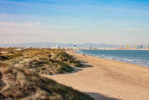 Valencia from El Saler