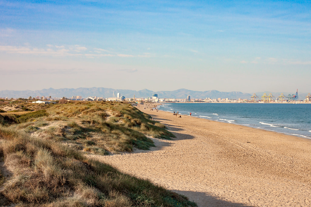 Valencia from El Saler by anroir, on Flickr