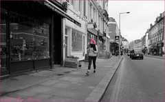 `1587 (roll the dice) Tags: uk travel pink windows portrait england people urban colour sexy london art classic girl fashion mobile shopping pretty chelsea sad phone traffic natural candid cab taxi transport streetphotography talk stranger unknown shops mad expensive unaware ryman humps londonist fulhamroad kensingtonchelsea sw3 touchofbrass