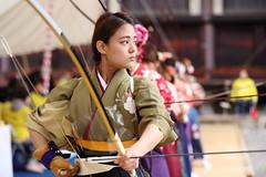 Shooter (Teruhide Tomori) Tags: portrait sports japan kyoto action traditional bow hakama   kimono arrow bowandarrow kyudo        thejapaneseartofarchery