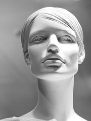 Empty Eyes (guenther_haas) Tags: bw white black mannequin model display olympus schaufenster 60mm dummy schwarzweiss schaufensterpuppe f28 ulm manikin omd puppe em5 mzuiko