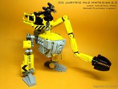 ICC Jury Rig Mk2 (icycruel) Tags: light construction industrial lego repair rig mech jury moc