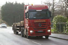 ANDERSON WP62SZL (bobbyblack51) Tags: mercedes benz all transport anderson types kilwinning 2016 actros of wp62szl