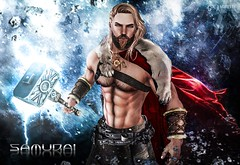 #70. And they say That a hero could save us (Gui Andretti) Tags: hairy male men hair blog go guys hero enzo strong samurai cyrus hq odin mitology aesthetic theforge meshhead nomatch meshbody musculous niramyth