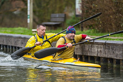 Waterside race series Race A 31st Jan 2016 (Click U) Tags: race january canoe series waterside newbury 31st 2016 a