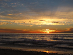 Pacific Horizon (zoniedude1) Tags: ocean california light sunset shadow sea sky beach nature beauty surf waves sundown pacific scenic pacificocean socal coastal southerncalifornia carlsbad exploration discovery westcoast sandiegocounty pacificsunset zoniedude1 pacifichorizon socalcoast southpontostatebeach earthnaturelife canonpowershotg12 pspx8