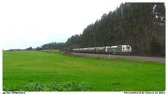 333.325 con el Bioetanol A Coruña S.D- Teixeiro (javivillanuevarico) Tags: trenes renfe bioetanol renfemercancías 333325 líneapalenciaacoruña
