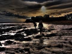 Viking Bay (slipthru) Tags: sunset beach kent hdr apocalyptic broadstairs vikingbay tonemapped
