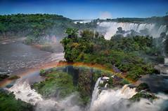 Iguazu (www.isphoto.lv) Tags: travel summer brazil tourism southamerica argentina river waterfall rainbow falls waterfalls traveling iguazu