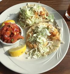FISH TACOS MOSS BEACH DISTILLERY MOSS BEACH CA. (ussiwojima) Tags: california food breakfast dinner lunch restaurant mossbeach fishtacos mossbeachdistillery