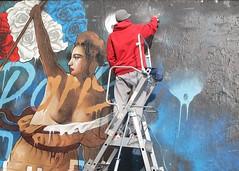 MR DHEO (Brin d'Amour) Tags: graffiti peinture pairs 75011 brindamour mrdheo muroberkampf