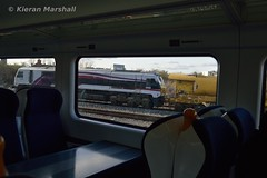 8209 at Islandbridge Junction, 15/2/16 (hurricanemk1c) Tags: dublin irish train gm rail railway trains enterprise railways 209 irishrail 201 nir generalmotors heuston 2016 emd iarnród 8209 éireann northernirelandrailways iarnródéireann islandbridgejunction