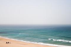 al-Maġrib (_tamayo) Tags: ocean madrid beach canon mar playa paisaje arena camel ala 1855 february marruecos moroco febrero camello hercules estrecho oceano atlantico almagrib 400d