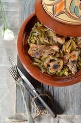 tajine agneau au four (zesttangerine) Tags: plat recette tajine agneau flageolet
