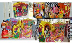 WORLD OF BARBIE HOUSE (ModBarbieLover) Tags: house mod doll stacey ken barbie skipper pj 1970 1968 tnt francie