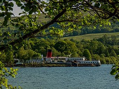 Maid of the Loch (MC Snapper78) Tags: scotland boat sony balloch lochlomond maidoftheloch marilynconnor