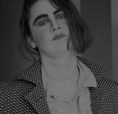 Julia No1 (ayshaj.nasser) Tags: portrait bw art monochrome project photography monochromatic portraiture queer artproject genderbending lgtb