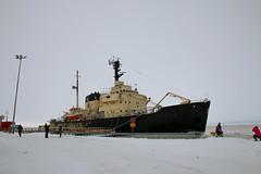 Icebreaker Sampo (Curt) Tags: winter finland icebreaker sampo kemi