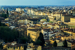 Florence cityscape (Arutemu) Tags: city italien light urban italy canon florence italia cityscape afternoon view perspective ciudad tuscany vista firenze toscana renaissance birdseyeview ville      piazzalemichelangelo