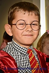Harry Potter (pickup2sticks 6.1 million views) Tags: boy england glasses focus child harrypotter fancydress derby