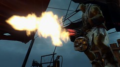 Fallout4 - FIST on the attack (tend2it) Tags: game tower pc screenshot 4 nuclear xbox super trinity rpg fist future mutant apocalyptic minigun fallout injector postprocessing ps4 reshade fallout4 screenarchery