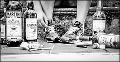La Nike mi ha pagato per farla (ilaria.bellelli) Tags: scale mai alcool una vita sigarette vizio solitudine