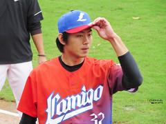 IMG_3611_副本 (vivian_10202) Tags: baseball taoyuan cpbl lamigo 王溢正