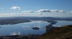 Loch Lomond from Conic Hill (bob the lomond) Tags: scotland lochlomond conichill bobthlomond