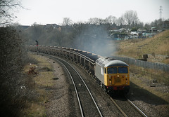 Putting On A Show (marcus.45111) Tags: train grid flickr railway canondslr freight clag thornhill 2016 flickruk class56 canoncameras 56081 canon5dmk11 exbritishrail 6z34