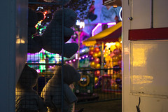 Behind the Prize (JRS-IW-Photography) Tags: uk carnival light ted london kids canon toy lights stuffed shadows teddy fairground bokeh fair shoreditch prize caravan carnies 750d