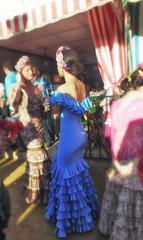 Flamenca (jantoniojess) Tags: españa sevilla andalucía spain seville sevillanas flamenca feriadesevilla feriadeabril peineta trajedeflamenca casetaferia sevillianwoman sevilliangirl feriadesevilla2016