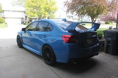 IMG_1064 (86Reverend) Tags: blue 2000 garage 25 subaru hyper 16 impreza wrx sti rs coupe 00 25rs 2016 serieshyperblue
