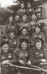 Female Snipers of the 3rd Shock Army, 1st Belorussian Front - 775 confirmed kills in one photograph (1945) [916 x 1425] #HistoryPorn #history #retro http://ift.tt/1SCGjJu (Histolines) Tags: history female army one 1st front x retro photograph timeline shock kills 1425 1945 3rd snipers confirmed 916 775 belorussian vinatage historyporn histolines httpifttt1scgjju
