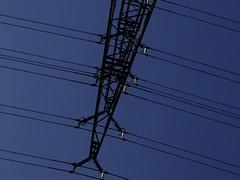 Energie in Deutschland (gittermasttyp2008) Tags: sky climb kunst himmel cable creepy climbing powerpole strom highvoltage voltage klettern strommasten stahl strommast powertower gittermast freileitung latticetower stahlgittermast latticeclimbing