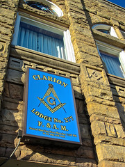 Masonic Lodge #277, Clarion, PA (Robby Virus) Tags: building temple pennsylvania lodge masonic masons fraternal organization clarion freemasons
