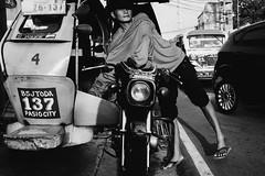 117/365 (Nico Francisco) Tags: street blackandwhite project tricycle sidewalk 365 366