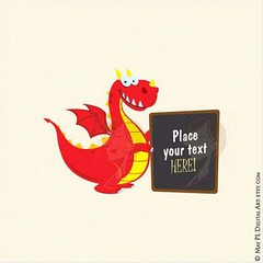 Need a signage? This cute Welsh Dragon holds it up for you! #signage #cute #welsh #dragon #teacher #clipart #scrapbooking #craft #projects https://goo.gl/o9JMhD (maypldigitalart) Tags: cute scrapbooking dragon craft teacher clipart signage welsh projects