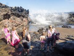 all around the blowhole 2 (dolanh) Tags: hawaii maui spray nakaleleblowhole kahekilihighway