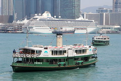 Star Ferry_5512 (Stephen Wilcox - Jetwashphotos.com) Tags: ocean city travel cruise sea urban water buildings photography hongkong harbor flickr waterfront image harbour transport photograph transportation starferry kowloon wp tsimshatsui shiningstar hongkongisland victoriaharbour crystalserenity jetwashphotos