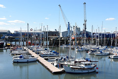 Blyth RNYC moorings (DavidWF2009) Tags: marina harbour northumberland blyth moorings rnyc southharbour